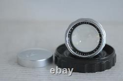 Leica Summilux 50mm F1.4 Screw Mount Lens with Cap & Plastic Case