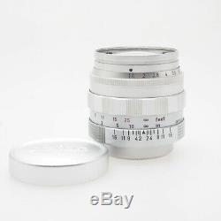 Leica Summilux 50mm F 1.4 Screw Mount (l39)
