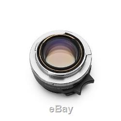 Leica Summilux-M 35mm F1.4 Black Pre ASPH M mount #319. EXC+
