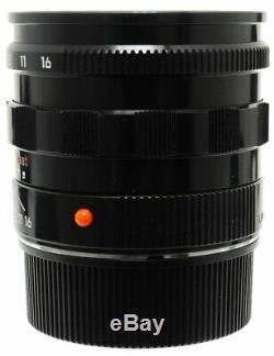 Leica Summilux-M 50mm F1.4 E46 Black Paint Lens For Leica M Mount