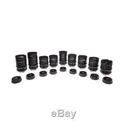 Leica Thalia Prime Set (24, 30, 35, 45, 55, 70, 100, 120, 180mm) PL Mount