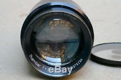 Leica Thambar 9cm 90mm f/2.2 Leica Screw Mount LTM Lens. Filter