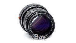 Leica'Thin' Tele-Elmarit 90mm f2.8 In Black 1983 M Mount Minty