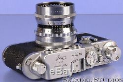 Leica Vintage Voigtlander 50mm Nokton F1.5 Ltm Screw Mount Lens +caps Rare