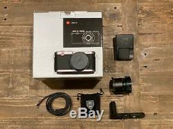 Leica X1 12.2MP Digital Camera with Leather Strap, Viewfinder, Lens Hood Mount