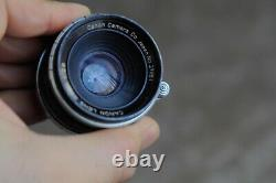Leica screw mount M39 Canon 35mm F2.8 Lens for canon RF cameras and leica RF