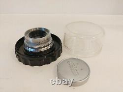 Leica summaron 35mm f3.5 Lens M-mount Excellent CLAed