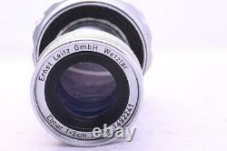 Leitz Elmar 9cm 90mm F4 Collapsible M Mount Prime Lens Leica M mount