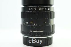 Leitz Leica 100mm F4 Macro Elmar-R Leica R Mount -BB