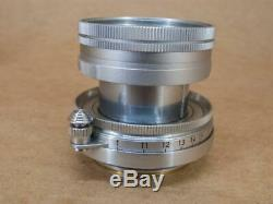 Leitz Leica 50mm 12 Summicron Lens Screw Mount 1953