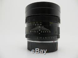Leitz Leica Lens Objektiv Summicron R mount 90 F2 3342469 E55 jg015