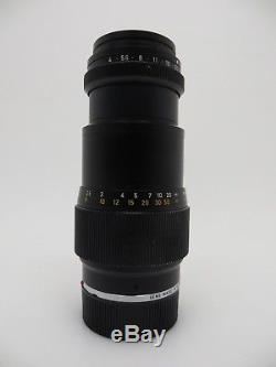 Leitz Leica Lens Objektiv Tele Elmar M mount 135mm F4 2906842 jg017