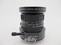 Leitz Leica Lens PC Super Angulon R mount 28 f2,8 Zubehör jh108
