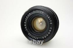 Leitz Leica SUMMICRON 35mm f2 CANADA #2740102 M mount jh093