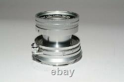 Leitz/Leica Summicron 50mm F/2 lens M mount (rare in this condition) $675.00