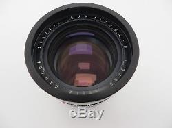 Leitz Leica Summicron 90 f2 R Mount 3 Cam 2947344 OVP jb001