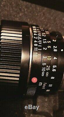 Leitz Leica Summicron-C 40mm F2.0 Sharp Lens M Mount M2 M3 M4 M5 M6 M7 M8 M9 M10