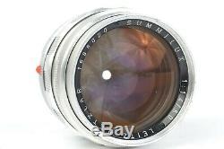 Leitz Wetzlar 50mm f/1.4 SUMMILUX Lens with XOOIM Hood for Leica M Mount #P8020