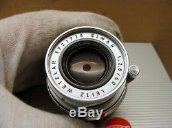 Leitz Wetzlar Leica Elmar-M 12.8/50mm bewährtes M-mount Lens TOP