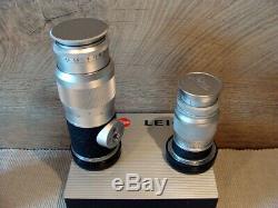 Leitz Wetzlar Leica Objektive 4/90mm+4.5/135mm M-mount Sammlerstücke Top