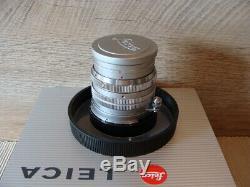 Leitz Wetzlar Leica Summarit M-mount 1.5/5cm chrom 1a Sammlerstück RAR