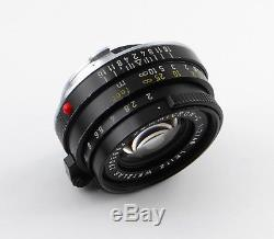 Leitz Wetzlar SUMMICRON-C 12/40 Leica M-Bajonett Lens 40mm f/2.0 M-Mount