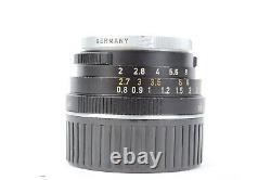 Leitz Wetzlar SUMMICRON-C 40mm f/2 Lens for Leica M Mount CLA by YYE #P5359
