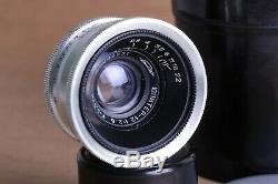 Lens JUPITER 12, 35mm f2.8, M39 mount for Leica, FED, Zorki, Sony Zeiss Biogon