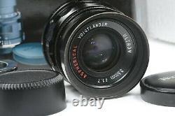 Lens Voigtlander 35mm f1,7 ULTRON L39 + M mount adapter, Bessa & Leica