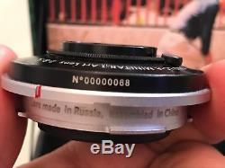 Lomo LC-A Minitar -1 Art Lens 32mm f2.8 Leica M Mount