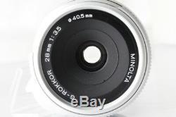 MINTMinolta G-Rokkor 28mm F/3.5 Lens for Leica L39 LTM Mount #3814