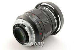 MINTVoigtlander NOKTON 35mm F/1.2 Aspherical Leica M mount From JAPAN