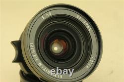 MINT Leica ELMARIT-M 21mm f/2.8 M Mount Lens