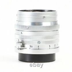 MINT- Leica Summarit 5cm 50mm f1.5 L39 LTM Screw Mount Lens Very Nice