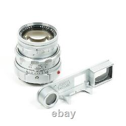 MINT Leica Summicron 50mm f2 DR Dual Range M Mount Lens Complete Boxed (GH)