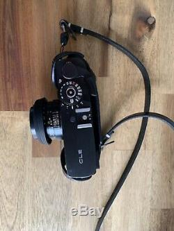 MINT+++Minolta CLE Film Camera M Rokkor 40mm f/2 Lens CLE Leica M Mount