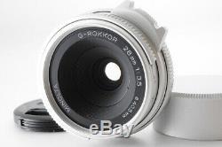 MINT Minolta G-ROKKOR 28mm f/3.5 LTM L39 Leica Screw Mount from Japan 430