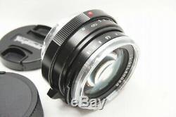 MINT VOIGTLANDER NOKTON CLASSIC 40mm F1.4 VM Lens for Leica M Mount #200820j