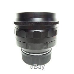 MINT Voigtlander 50mm F/1.1 Aspherical Leica M Mount Fast Prime Lens