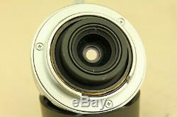 MINT- Voigtlander Color Skopar 28mm f/3.5 LTM L39 Leica Screw Mount