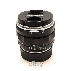 MINT+++Voigtlander Nokton 40mm f/1.2 Aspherical Lens VM Mount Leica M