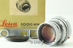 MINT in BOX Leica Leitz Summicron 5cm 50mm F2 Dual Range DR M Mount with Goggles