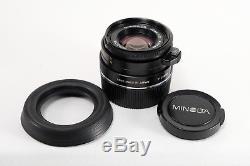 MInolta M-Rokkor 40mm F2 (EXcellent++++++) Leica M Mount