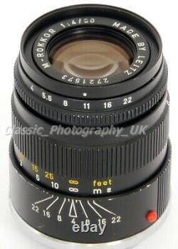 M-Rokkor 90mm 14 LEICA-M Mount Lens for Leica CL Leica M9 M3 M6 M7 Minolta CLE