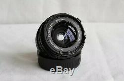 Minolta CLE Rangefinder with 28mm, 40mm & 90mm M-rokkor lenses Leica m mount