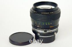 Minolta MC Rokkor 58mm F11.2 + Tappi. Obiettivo luminosissimo Leica M Mount