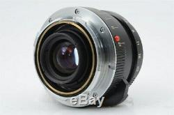 Minolta M Rokkor 28mm F2.8 Leica M mount for CL CLE Good from Japan (06-W43)