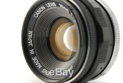 Mint Canon 35mm F/2 Leica Screw Mount LTM L39 Hood L/M Adapter From Japan C431
