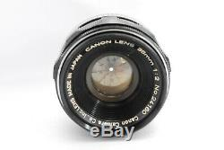 Mint Canon 35mm f/2 Leica Screw Mount L39 LTM Lens from Japan 482