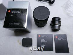 Mint Leica 35mm F/1.4 Summilux-M Aspherical ASPH 11663-FLE 6-Bit M Mount Lens